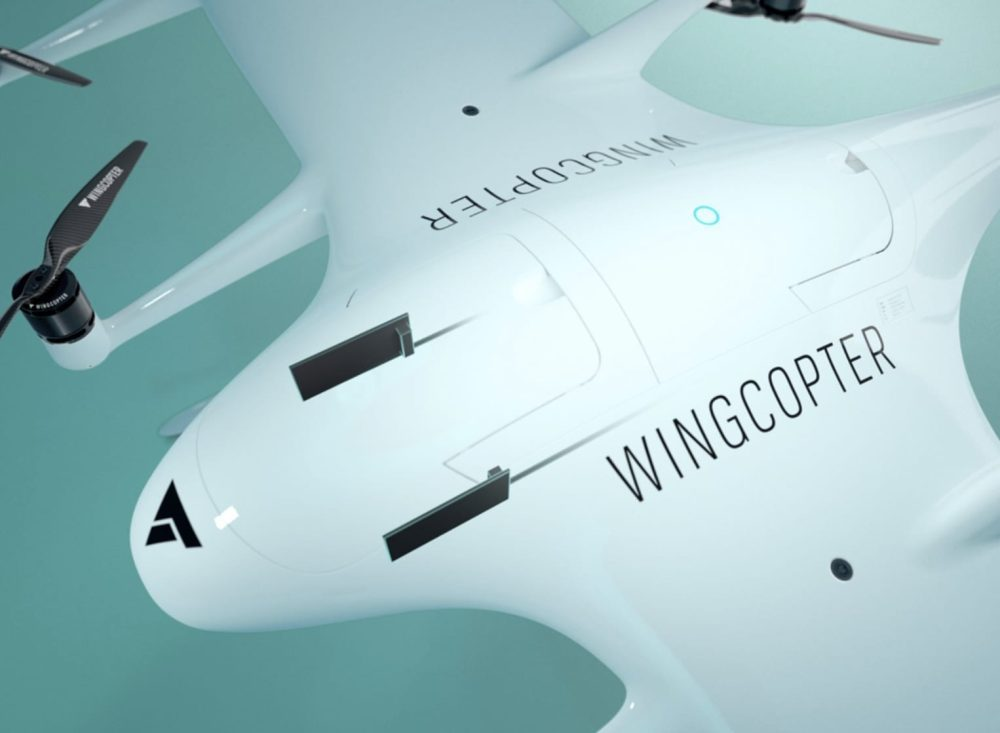Wingcopter's delivery drone can make three stops per flight