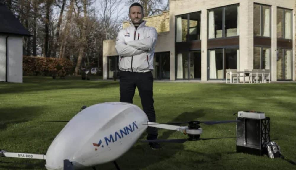 Startup Manna raises funds for drone deliveries in the UK