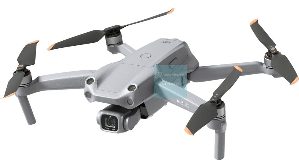 DJI Air 2S Fly More Combo promotional images leaked