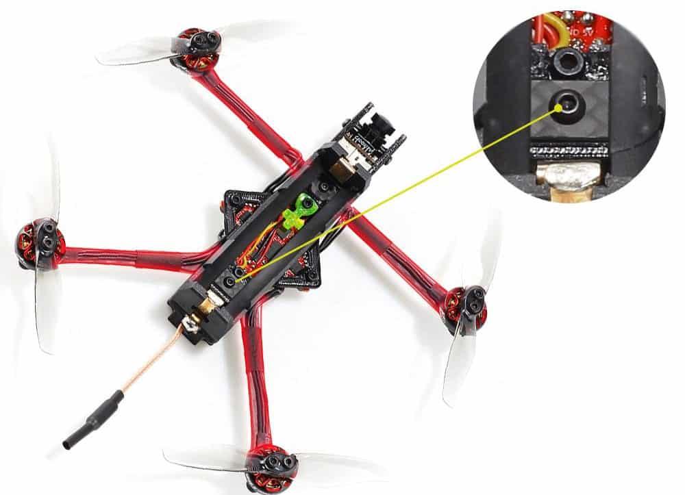 """Rekon 3 nano FPV quad: more of a """"flying battery"""" than a drone"""