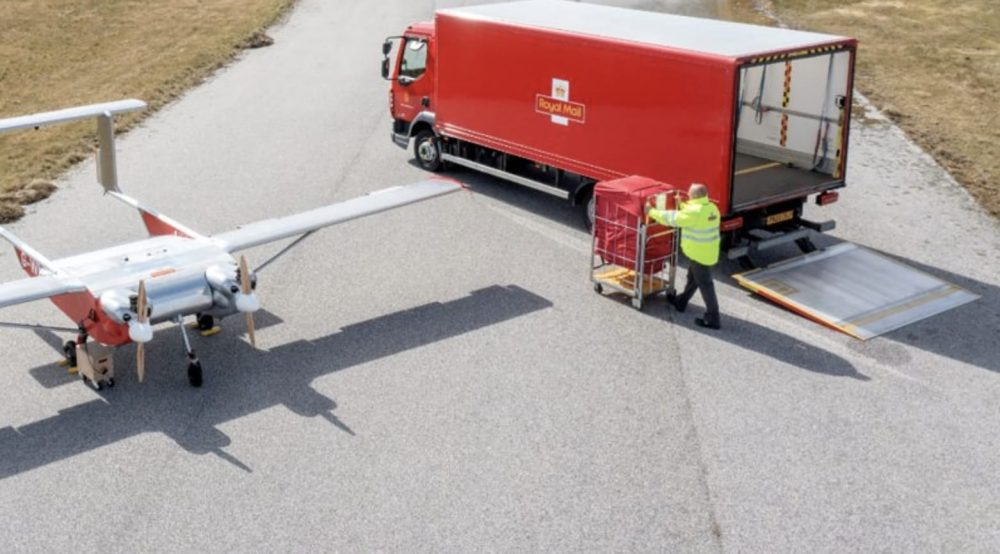 British postal company transports parcels by drone to remote archipelago