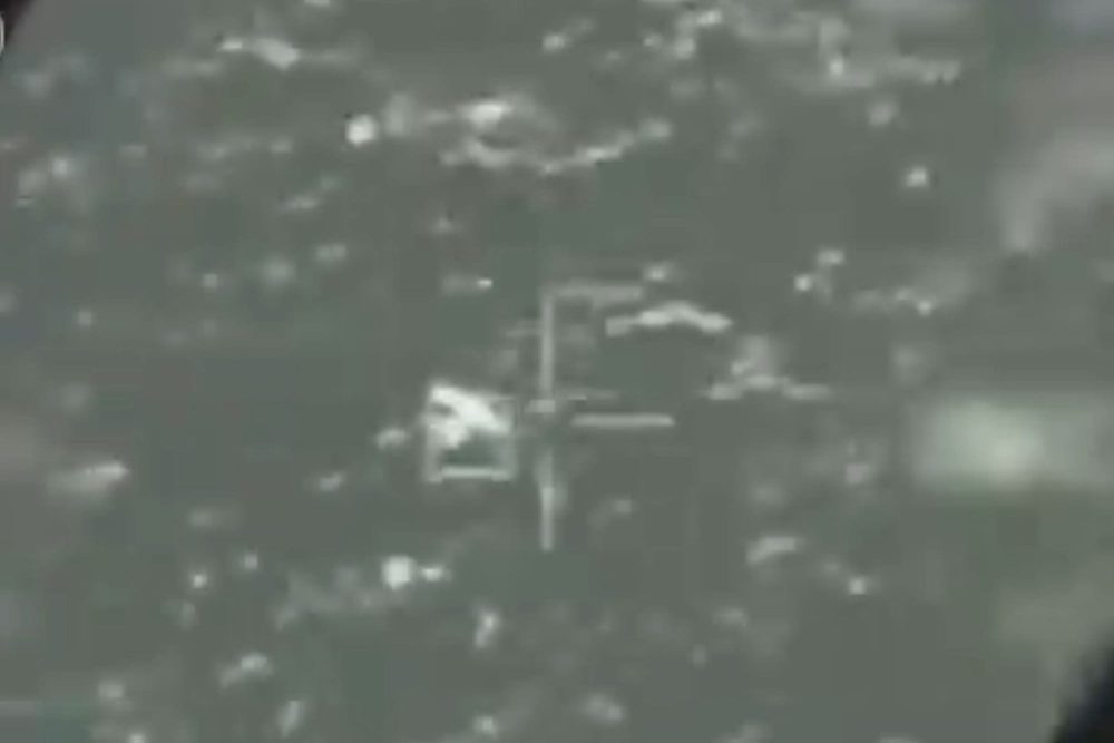 Suicide drone shot down by Israeli jet