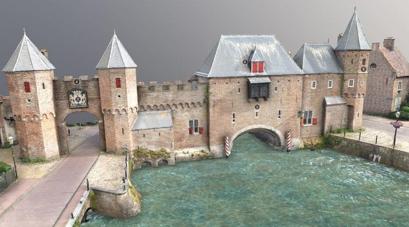 Dutch drone pilot uses DJI Mini 2 to make 3D model of historic building