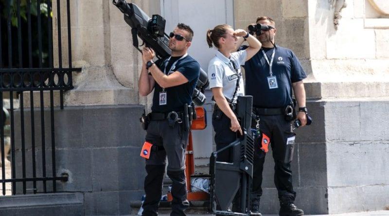 Belgian police deployed new anti-drone system during Biden visit