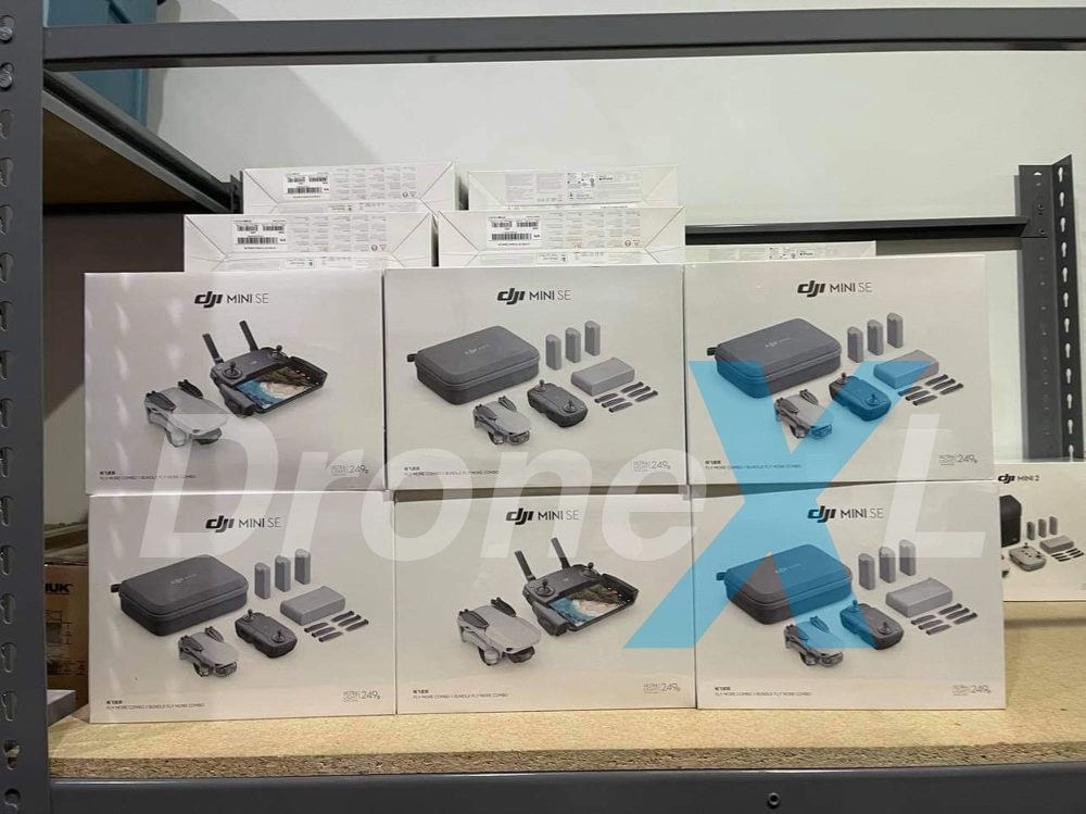 DJI Mini SE shows up in North America retail store