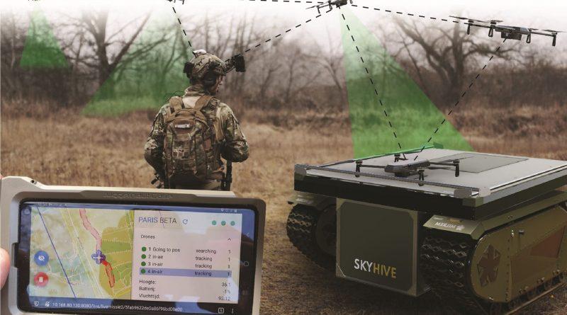 Dutch drone makers develop autonomous drone swarm for Defense Dept.