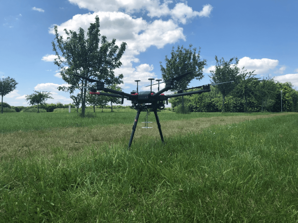 German researchers have developed a rescue drone that can recognize calls for help from people on the ground and link a position to it.