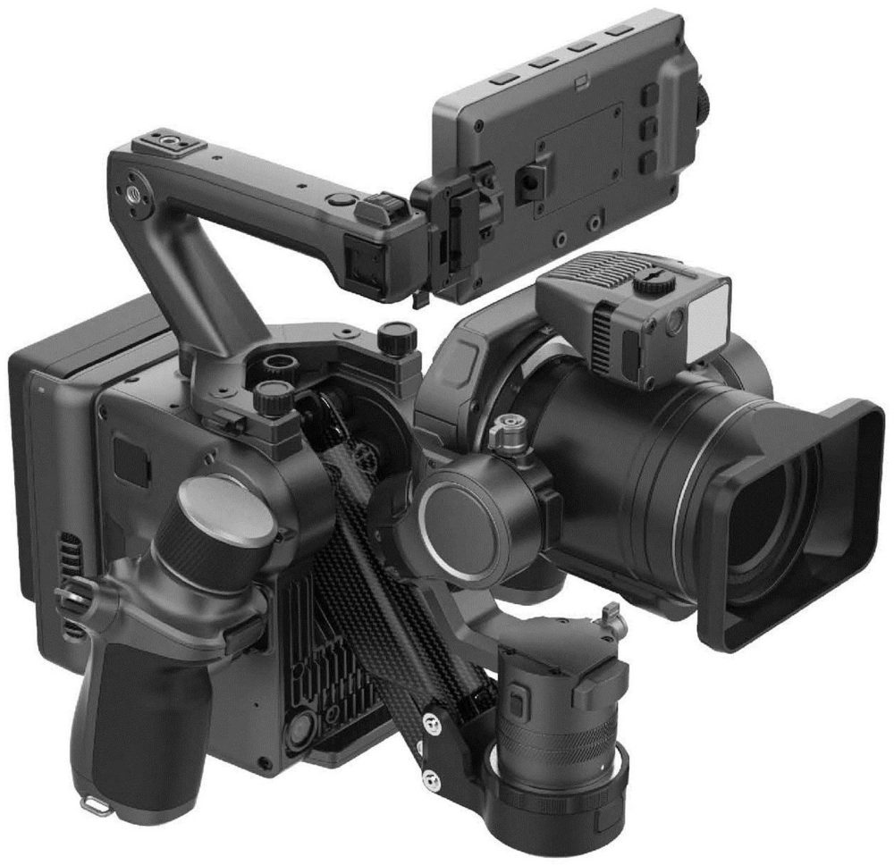 DJI's next-generation Osmo shown in leaked photos