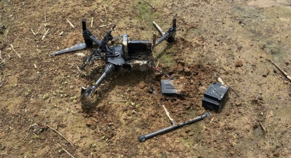 Canadian police drone destroyed after collision with Cessna