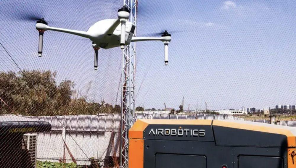 Dubai police build city-wide network of crime-fighting drones