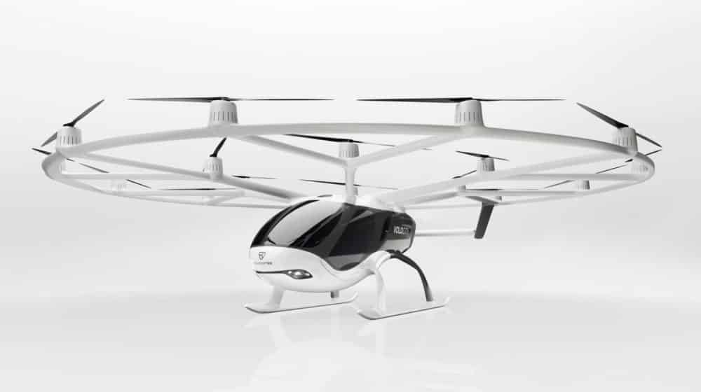 Volocopter air-taxi added to Microsoft Flight Simulator drone taxi VoloCity