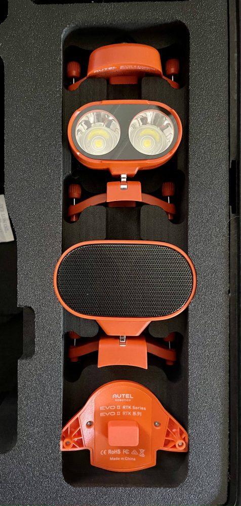 Autel Robotics EVO II Pro Enterprise drone unboxed
