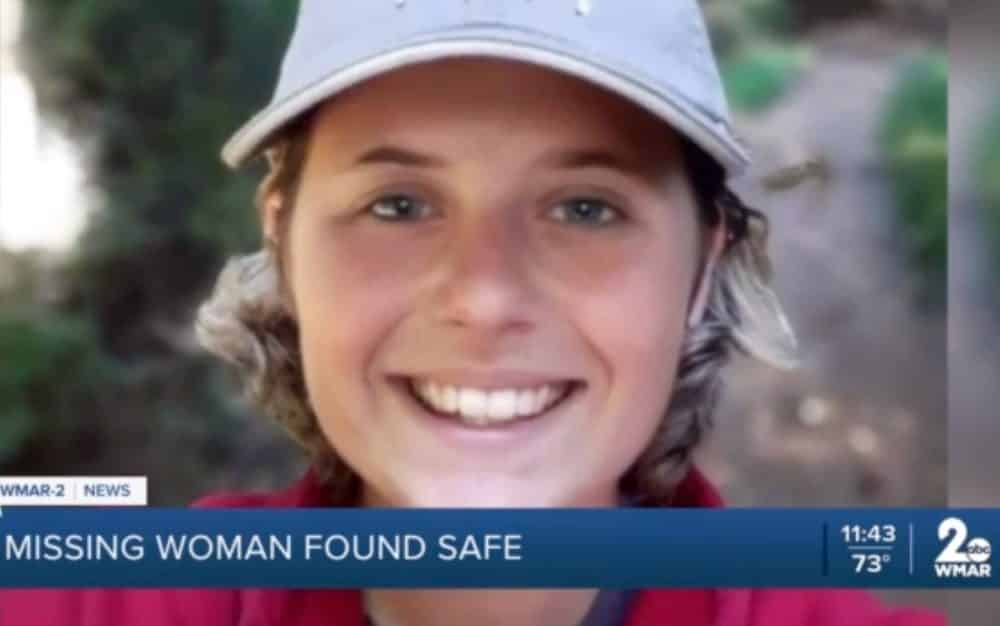 Missing woman found safe after a search that included drones