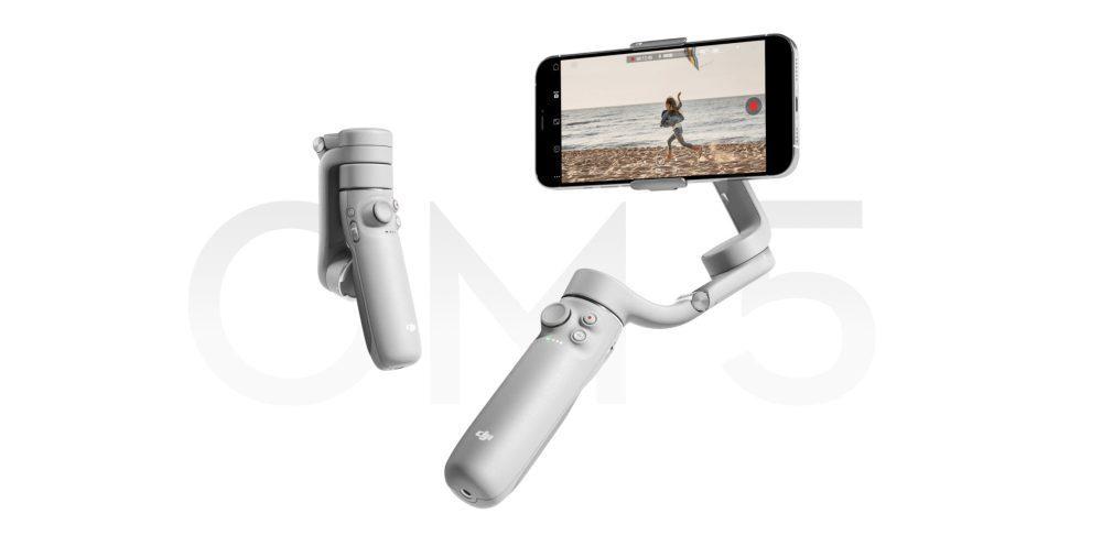 DJI OM5 - The smarter, smaller, lighter gimbal for your smartphone