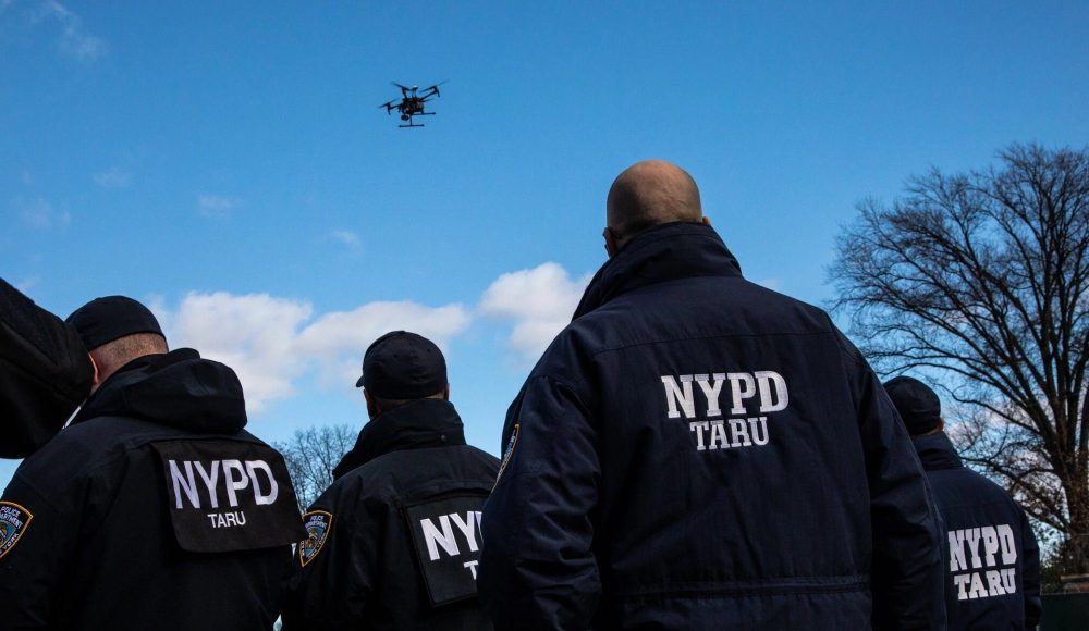 NYPD uses counterterrorism tools and drones on everyday New Yorkers