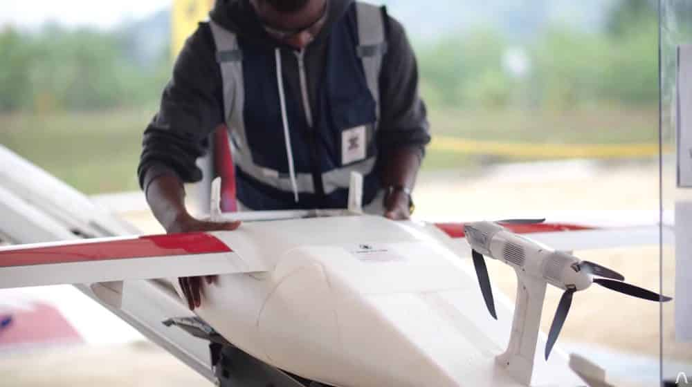 Zipline expands drone delivery of Covid-19 vaccines in Ghana