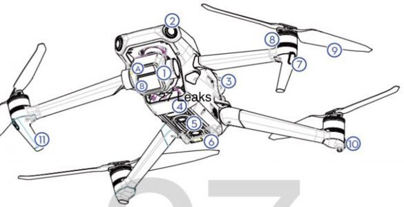 DJI Mavic 3 Pro price, specs and images leaked from manual