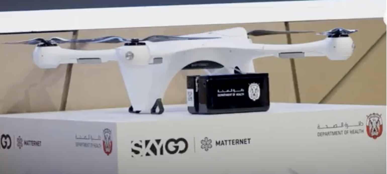 Matternet deploys world's first urban medical drone transportation system in Abu Dhabi