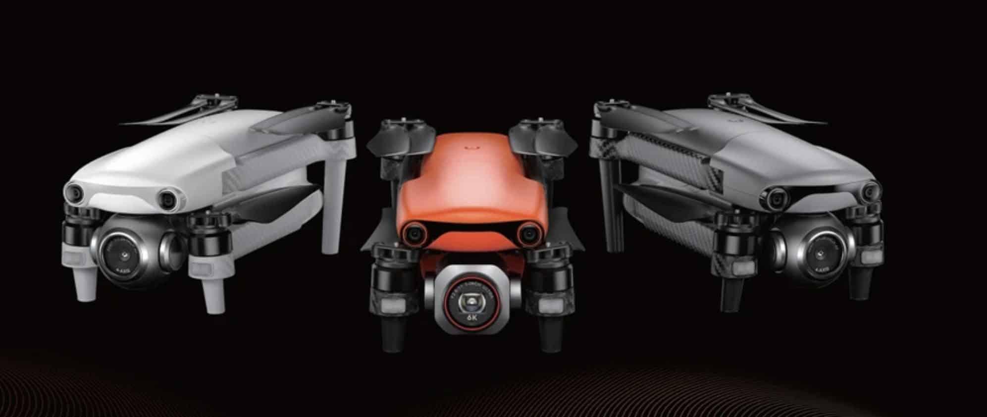 Autel officially announces the Evo Nano series and Evo Lite drones