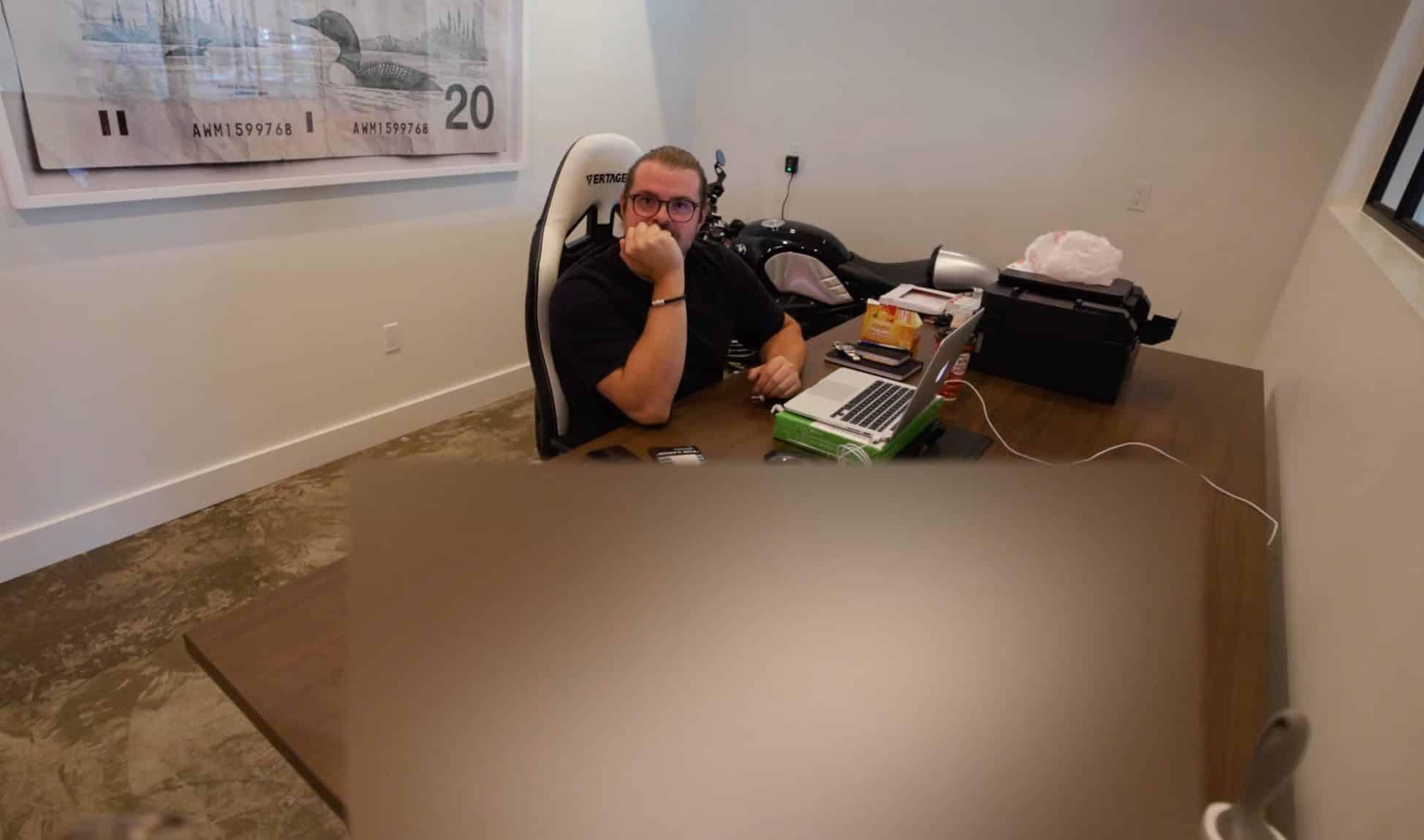 Peter McKinnon accidentally shows DJI Action 2 camera