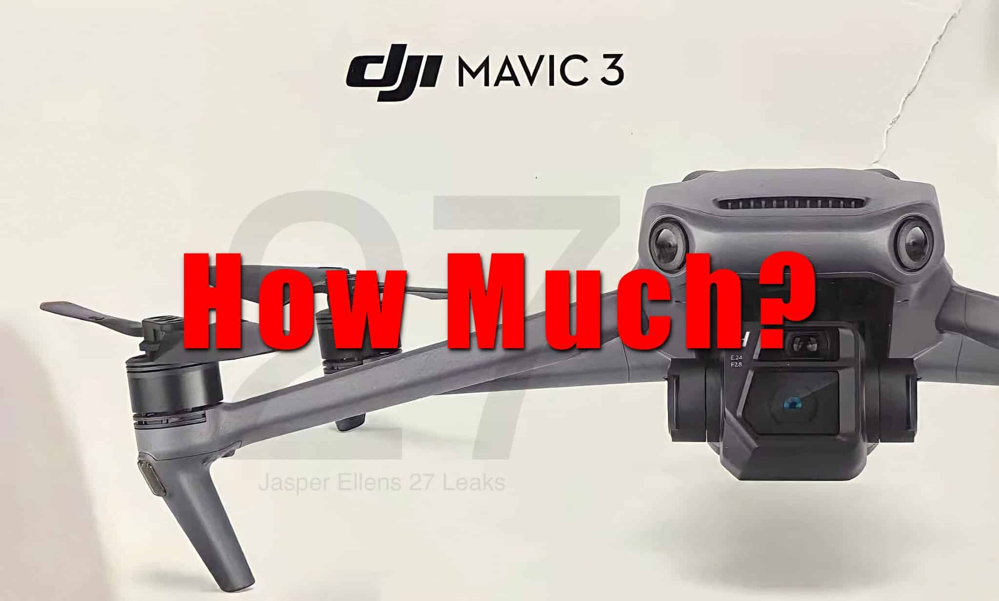 Rumored DJI Mavic 3 price significantly higher than outgoing Mavic 2 Pro drone