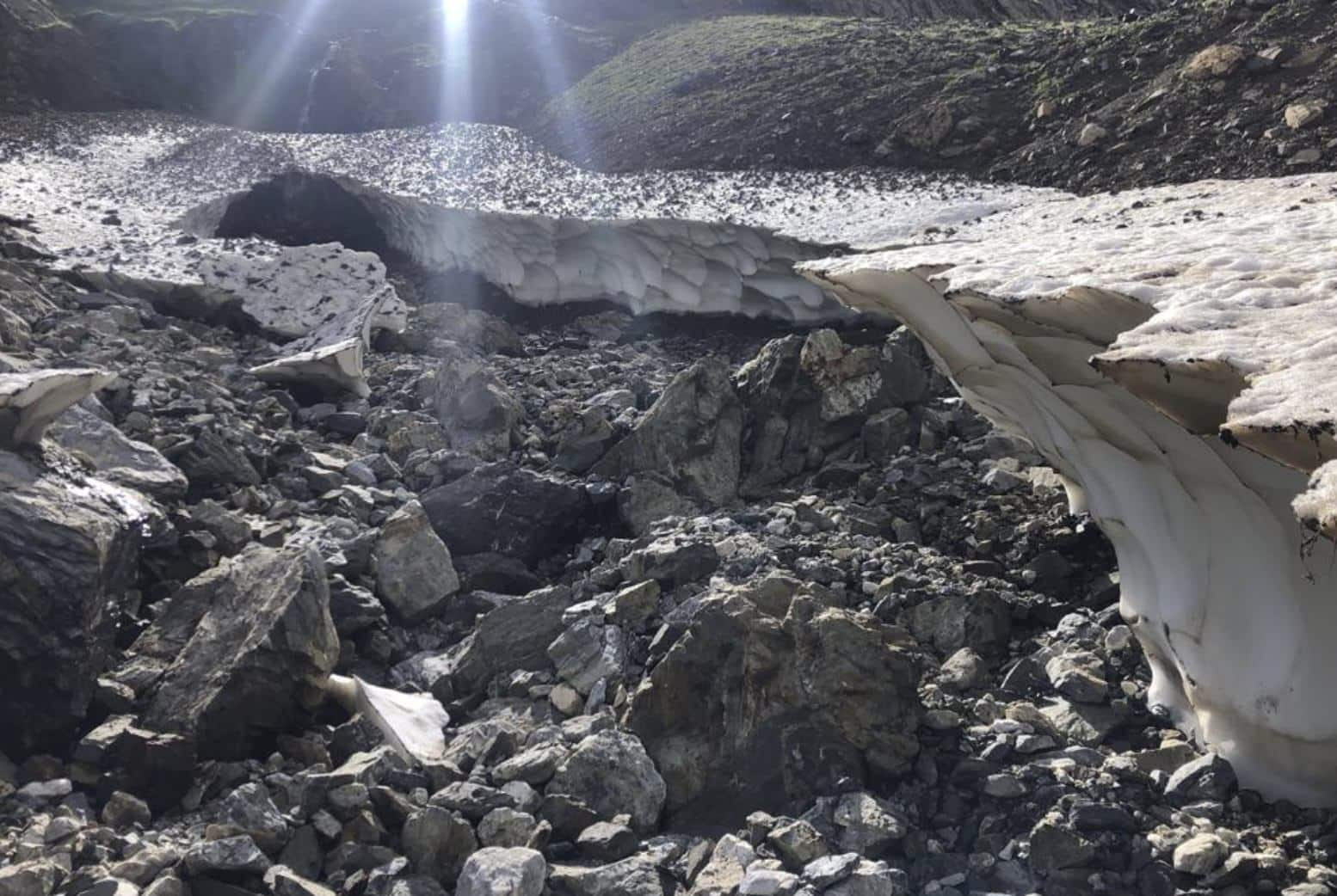 3D models from drones to study receding glaciers in Pyrenees mountains