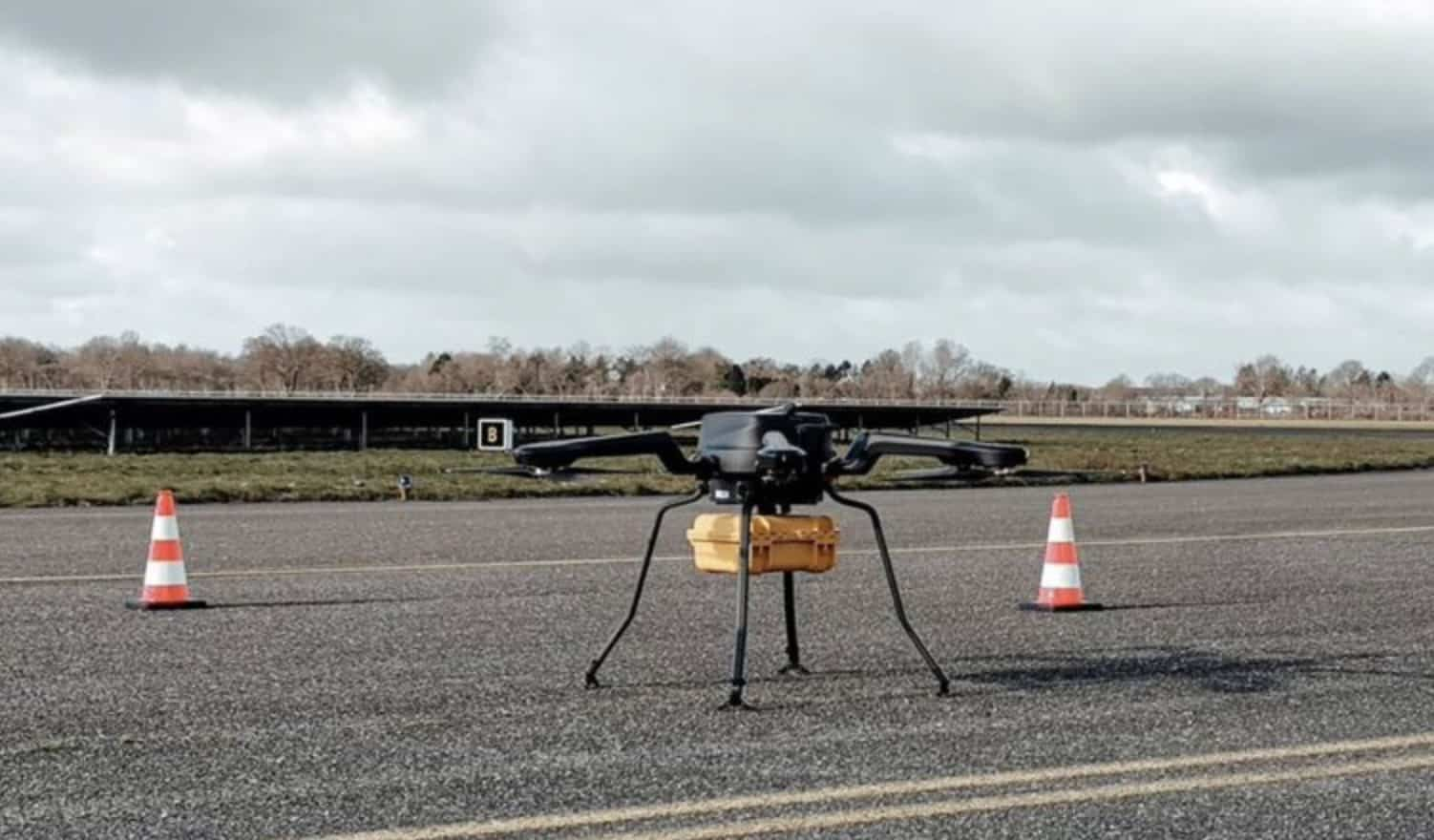 First BVLOS drone flight from Dutch airport has occurred