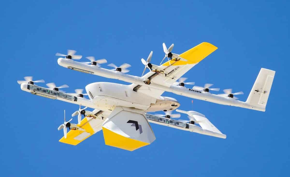 Google's Wing Starts World's First Mall-To-Home Drone Delivery Service